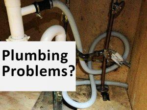 Plumbing Under Sink