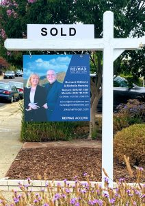 SOLD by Bernard & Michelle