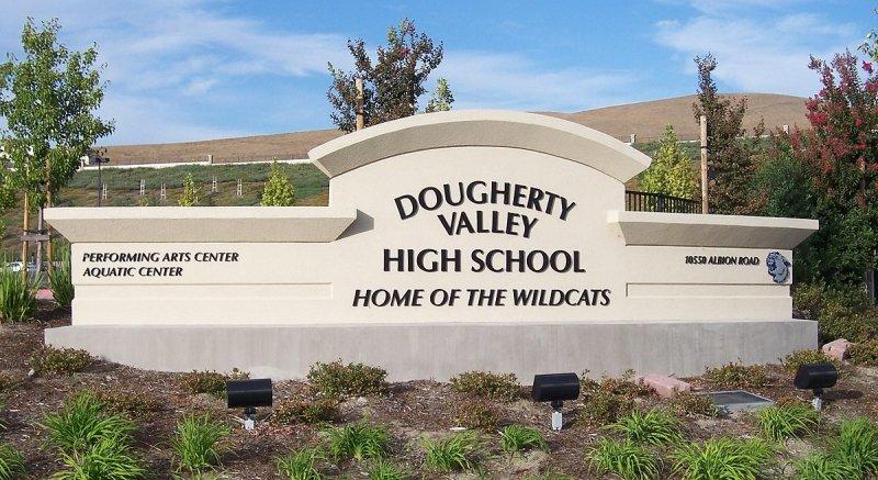 Photo of Doughert Valley High School Entrance