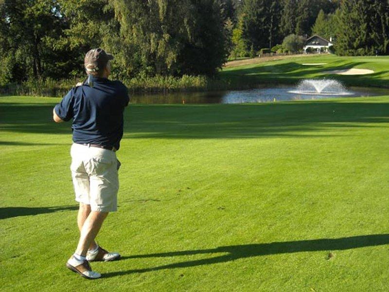 Golfer in Blackhawk